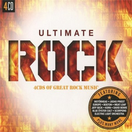 Ultimate Rock 4CDS Of Great Rock Music
