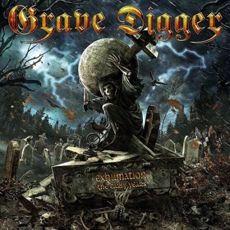 Альбом Grave Digger - Exhumation - The Early Years [Limited Edition] 2015 MP3 скачать торрент