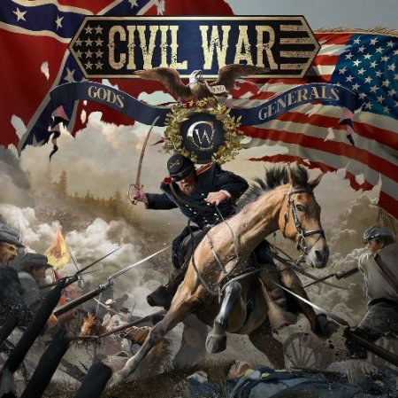 Альбом Civil War - Gods And Generals (Limited Edition) 2015 MP3 скачать торрент