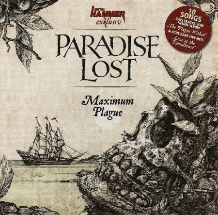 Альбом Paradise Lost - Maximum Plague (Compilation) 2015 MP3 скачать торрент