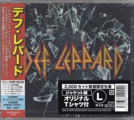 Альбом Def Leppard - Def Leppard (Japanese Edition) 2015 MP3 скачать торрент
