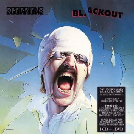 Альбом Scorpions - Blackout (50th Anniversary Deluxe Edition CD+DVD) 2015 FLAC скачать торрент
