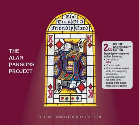 Альбом The Alan Parsons Project - Turn of a Friendly Card [2CD Deluxe 35th Anniversary] 2015 FLAC скачать торрент