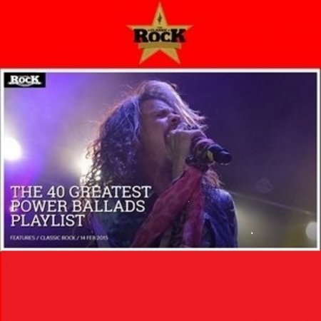 Сборник TeamRock Present: The 40 Greatest Power Ballads (Compilation) 2015 MP3 скачать торрент