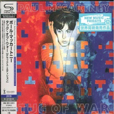 Альбом Paul McCartney - Tug Of War (Deluxe Edition) 2015 MP3 скачать торрент