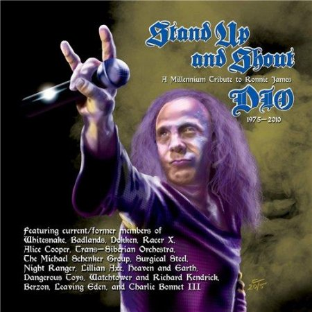 Альбом Stand Up And Shout - A Tribute To Ronnie James Dio 2015 MP3 скачать торрент