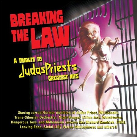 Сборник Breaking The Law: A Tribute To Judas Priest 2015 MP3 скачать торрент