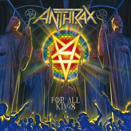 Альбом Anthrax - For All Kings [Deluxe Edition] 2015 MP3 скачать торрент