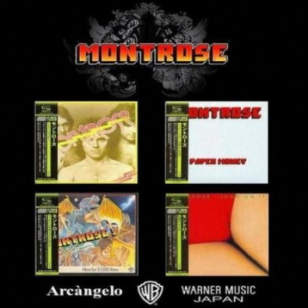 Альбом Montrose - 4 Albums Mini LP SHM-CD (Jараnеse Еditiоn) 2012 MP3 скачать торрент