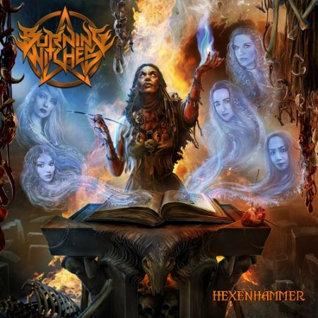 Альбом Burning Witches - Hexenhammer [Limited Edition] 2018 MP3 скачать торрент
