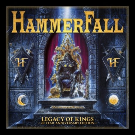 Альбом Hammerfall - Legacy of Kings [20 Year Anniversary Edition] 2018 FLAC скачать торрент