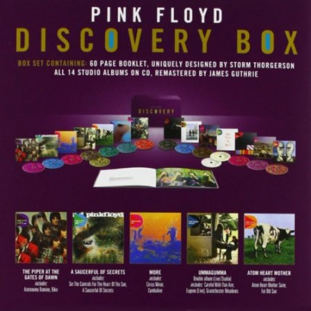 Дискография Pink Floyd - Discovery [16CD Box EMI Japan] 2011 FLAC скачать торрент